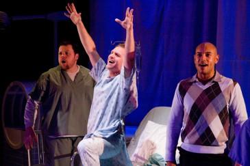 A New Brain (2009): Steve Ross, Steven Gallagher, Thom Allison