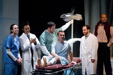 A New Brain (2009): Allie Hughes, Jonathan Tan, Steve Ross, Steven Gallagher, Parris Greaves, Thom Allison