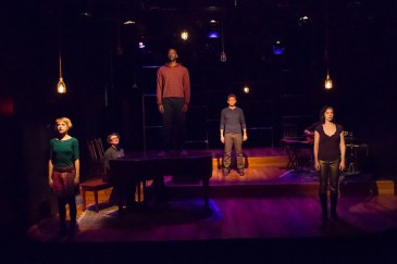 Bree Greig, Veda Hille, Daren A. Herbert, Dmitry Chepovetsky and Selina Martin in Do You Want What I Have Got? A Craigslist Cantata (2013)
