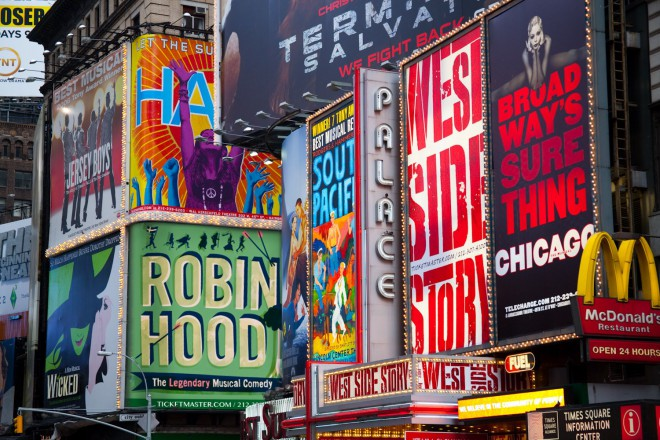 Robin on Broadway