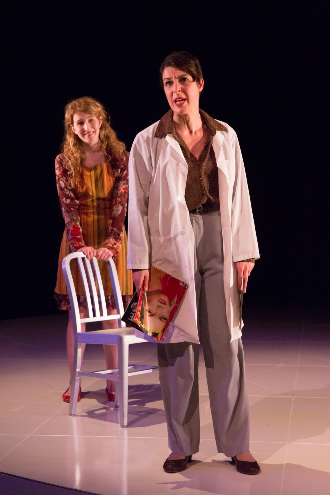 Sarah Gibbons, Sara-Jeanne Hosie in Falsettos (2013). Photography: Joanna Akyol