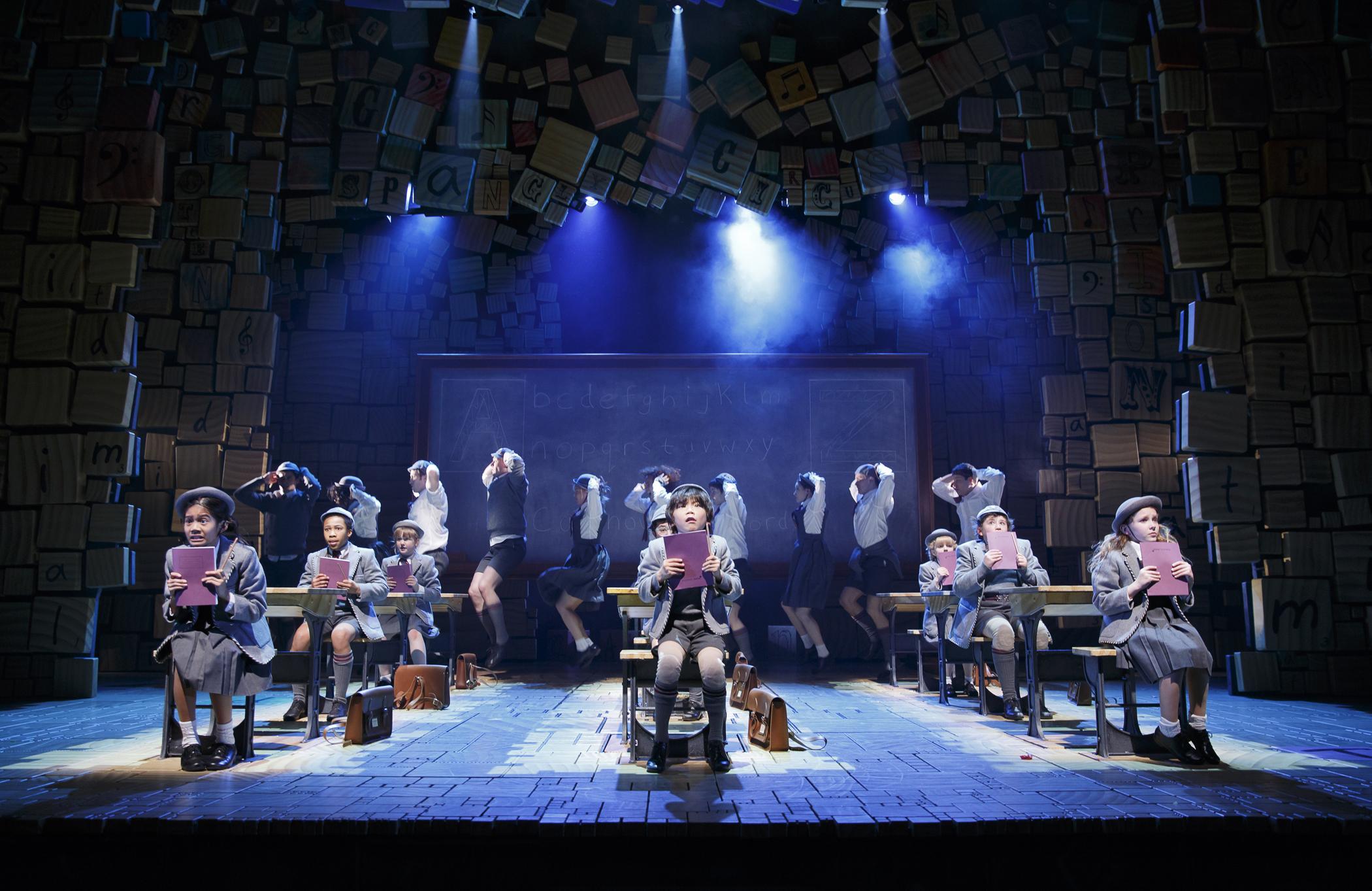 Matilda: Sam S. Shubert Theatre