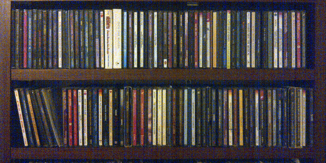 Mitchell's CD collection