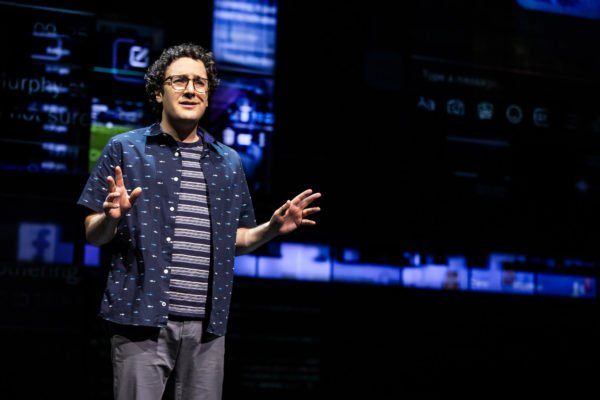 Alessandro Costantini in DEAR EVAN HANSEN – Canadian Company. Photo by Matthew Murphy, 2019.