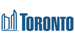 "city of Toronto logo with the text, ""Toronto"""